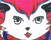 西普大陆手绘 炸猫和尚
