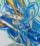 奥奇手绘---手绘神职暗龙