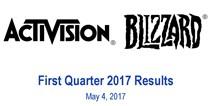 动视暴雪2017年Q1营收17.26亿,守望先锋收入超10亿美元