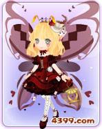 小花仙红心爱丽丝套装