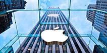苹果公司市值首度突破8000亿美元
