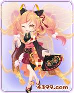 小花仙夏祭猫妖套装