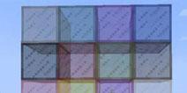 我的世界1.2染色玻璃大全
