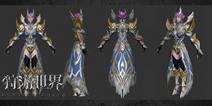 MMORPG手游《狩游世界》 惊艳人物模型曝光