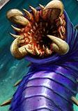 炉石传说紫色岩虫