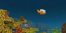 我的世界鱼怎么抓 手机版水域更新实体鱼怎么得