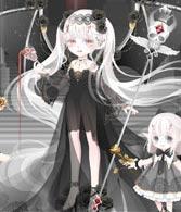 奥比岛地狱暗夜女王装