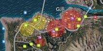 绝地求生全军出击G港资源是怎么分布 G港资源分布图