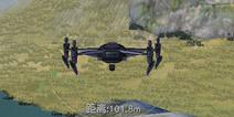 LYB伏地魔无处逃 荒野行动无人机使用技巧