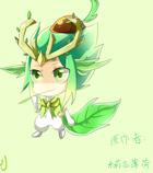 奥奇手绘---蛮王源兽