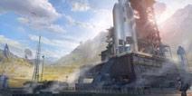 荒野行动新地图概念图曝光 大火山&航天基地