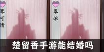 一梦江湖一梦江湖手游能结婚吗