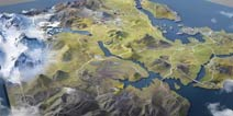 荒野行动新地图全景呈现 移动作战平台成新悬念