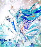 奥奇手绘—水晶洛世琦
