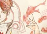 赛尔号手绘 玩火少年艾恩斯
