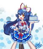 奥奇手绘―庆典蓝蓝露