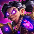 炉石传说女巫森林控制术 女巫森林新版林恩