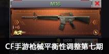 CF手游枪械平衡性调整第七期 冷门武器调整