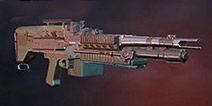 荒野行动重机枪MK60点评 空投限量版扫车神器