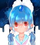 奥奇手绘―穿水手服小蓝