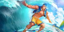 《时空召唤》冲浪大师踏浪登场 夏日运动系列主题上线!