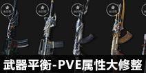 CF手游枪械平衡性调整计划 PVE属性大修整