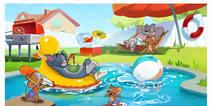 加入泳池派对!《猫和老鼠》欢乐暑假测试今日开启