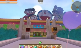 迷你世界创造存档:哆啦A梦世界 好玩存档分享