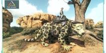 方舟生存进化【恐龙情报录】:剑齿虎