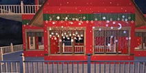明日之后圣诞小屋平面设计蓝图 豪华建筑推荐第7期