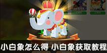 迷你世界小白象怎么得 小白象获取教程