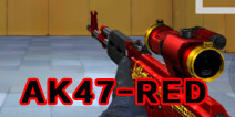CF手游AK47-RED评测 经典再现红龙降临