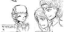 第五人格手绘漫画 盲女海伦娜