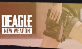 和平精英新枪沙漠之鹰展示视频
