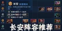王者荣耀自走棋长安阵容 王者模拟战长安阵容推荐