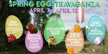 方舟生存进化4月8日复活节活动 免费礼物拾取、主题地牢、怪异服务器开启