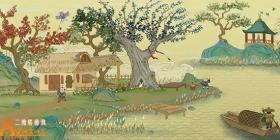 国风模拟生存《桃源记》已于1月1日开启删测!阡陌桑竹美如画,狭道通船逾千年