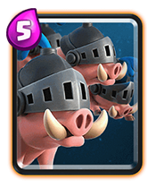 皇室战争皇家野猪数据 皇家野猪属性升级数据详解