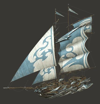 海洋传说璀顿号