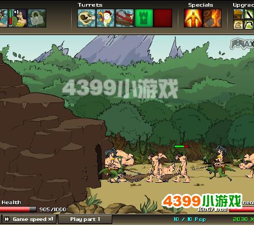 4399战争进化史2_战争进化史2游戏介绍_小游戏介绍_4399