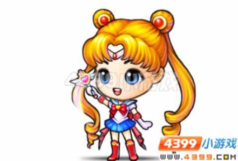 美少女战士的靓丽发型,至情至挚的眼神,俏妞战士服装,出现在竞技场上