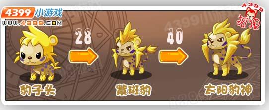 洛克王国豹子头进化图
