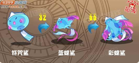 洛克王国符咒鲨进化图