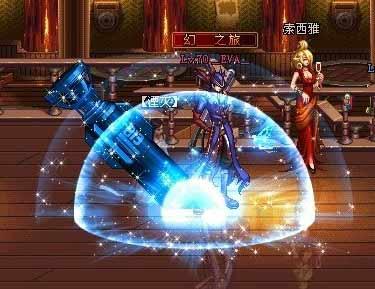 dnf冬季物语 男女大漫游蓝化星光补丁包