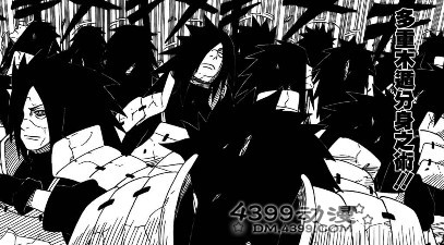 火影忍者漫画578分析 全面交锋