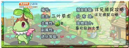 洛克王国三叶草龙
