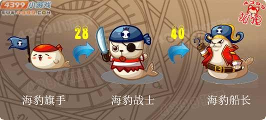 洛克王国海豹旗手进化图