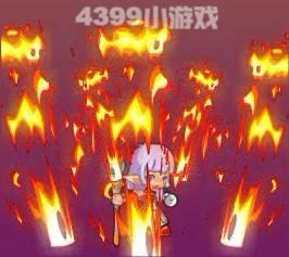 龙斗士魔导士火焰震击
