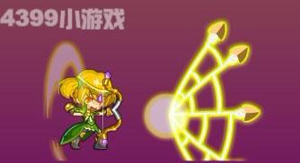 龙斗士神射手蛛网箭