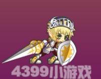 龙斗士骑士冲锋攻击